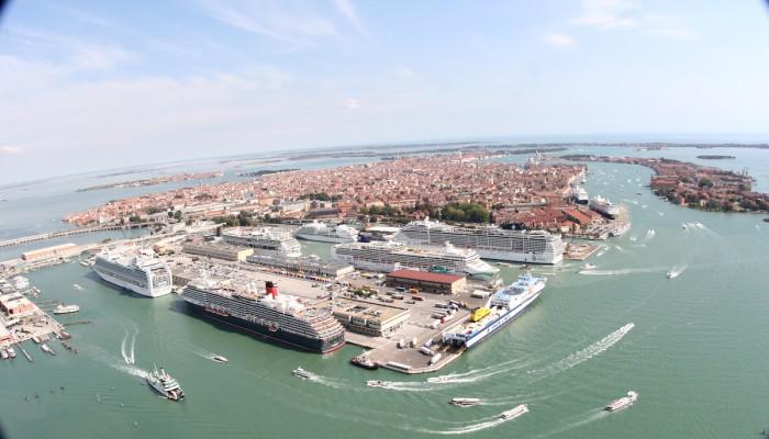 Foto Aerea Stazione Marittima Porto Venezia2