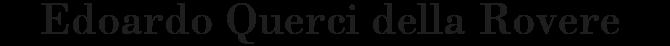 Edoardo Querci della Rovere – Imprenditore – Project manager